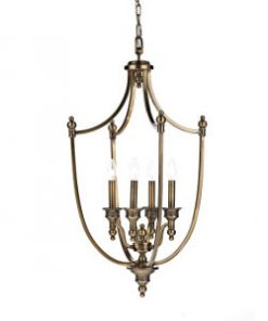 Antique Brass Finish Lanterns